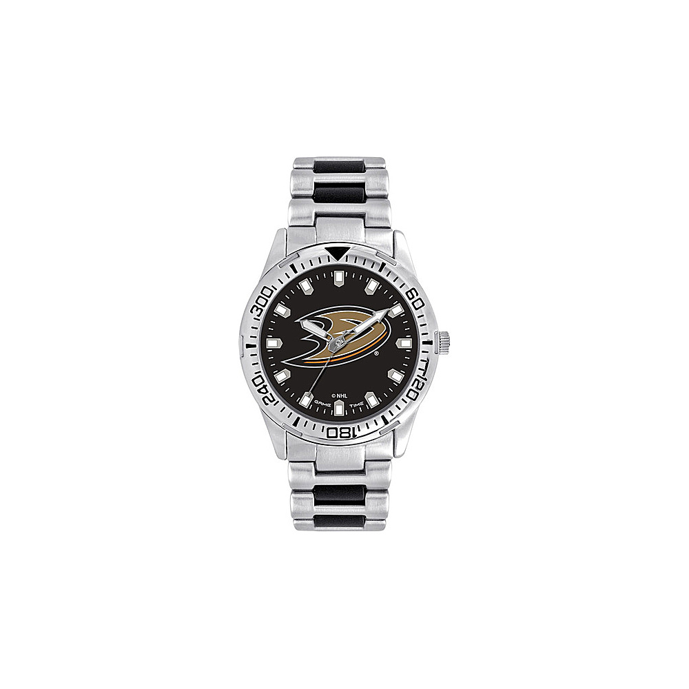 Game Time Mens Heavy Hitter- NHL Watch Anaheim Ducks - Game Time Watches - Fashion Accessories, Watches