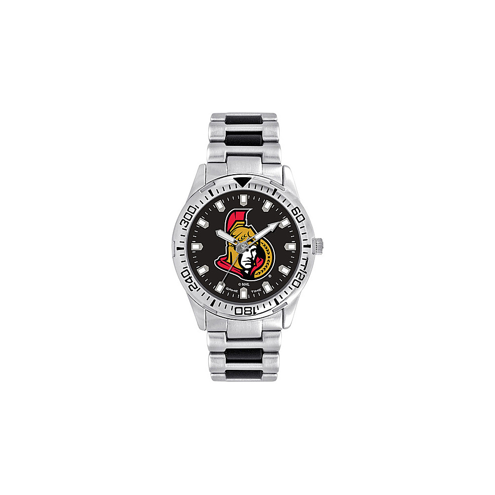 Game Time Mens Heavy Hitter- NHL Watch Ottawa Senators - Game Time Watches - Fashion Accessories, Watches