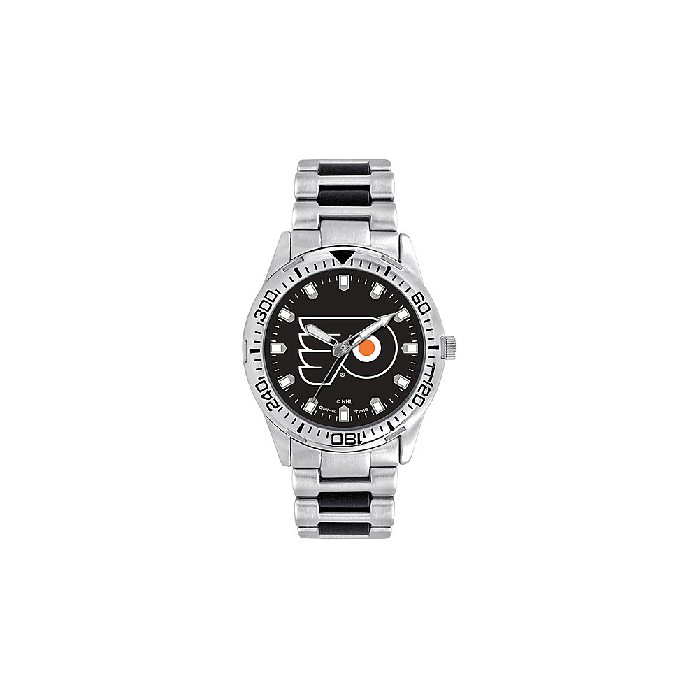 Game Time Mens Heavy Hitter- NHL Watch Philadelphia Flyers - Game Time Watches - Fashion Accessories, Watches