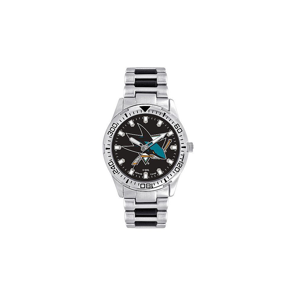 Game Time Mens Heavy Hitter- NHL Watch San Jose Sharks - Game Time Watches - Fashion Accessories, Watches