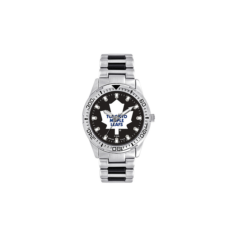 Game Time Mens Heavy Hitter- NHL Watch Toronto Maple Leafs - Game Time Watches - Fashion Accessories, Watches