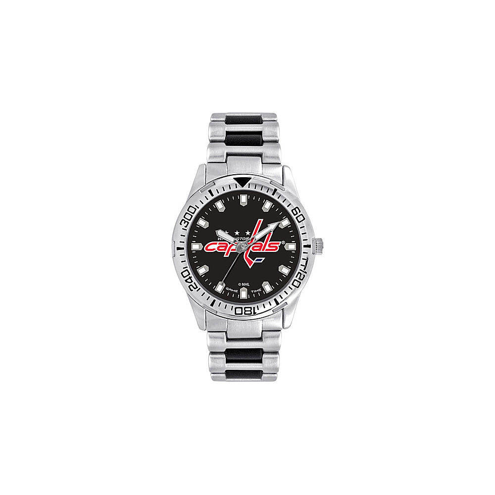 Game Time Mens Heavy Hitter- NHL Watch Washington Capitals - Game Time Watches - Fashion Accessories, Watches