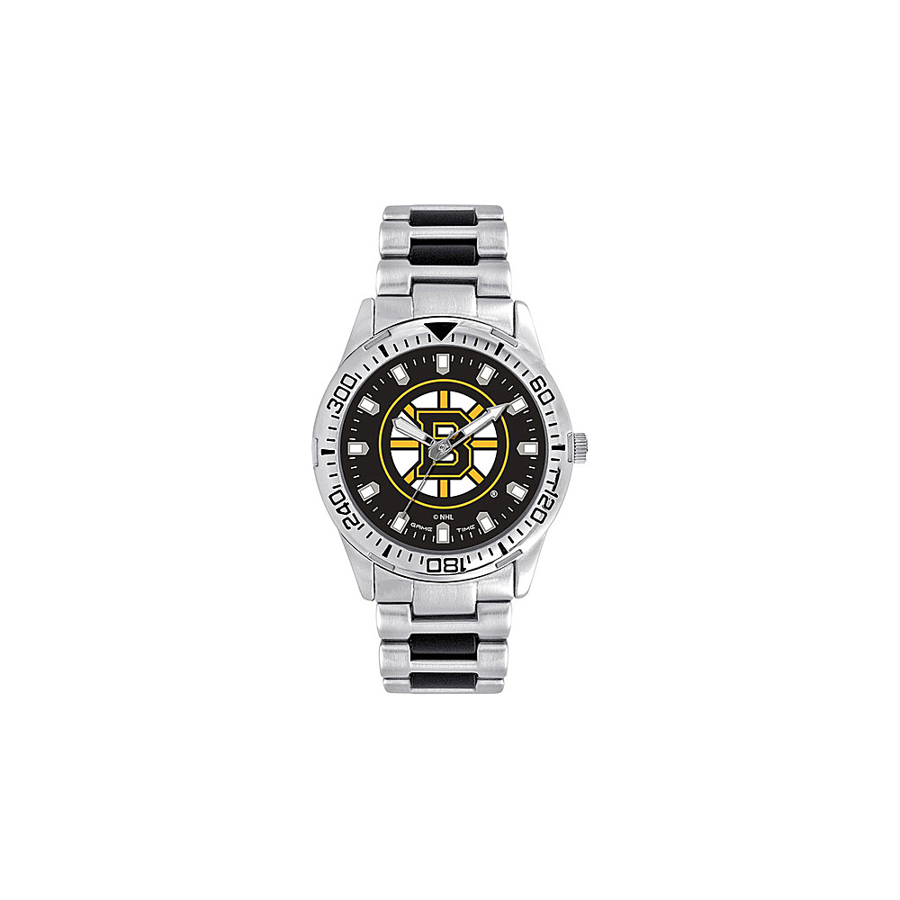Game Time Mens Heavy Hitter- NHL Watch Boston Bruins - Game Time Watches - Fashion Accessories, Watches