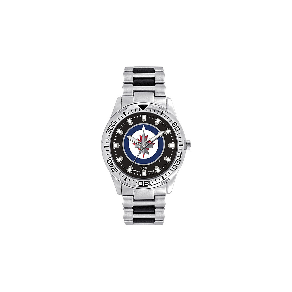 Game Time Mens Heavy Hitter- NHL Watch Winnipeg Jets - Game Time Watches - Fashion Accessories, Watches
