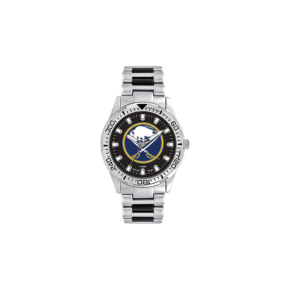 Game Time Mens Heavy Hitter- NHL Watch Buffalo Sabres - Game Time Watches - Fashion Accessories, Watches