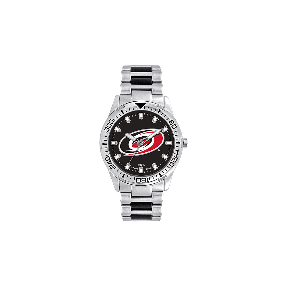 Game Time Mens Heavy Hitter- NHL Watch Carolina Hurricanes - Game Time Watches - Fashion Accessories, Watches