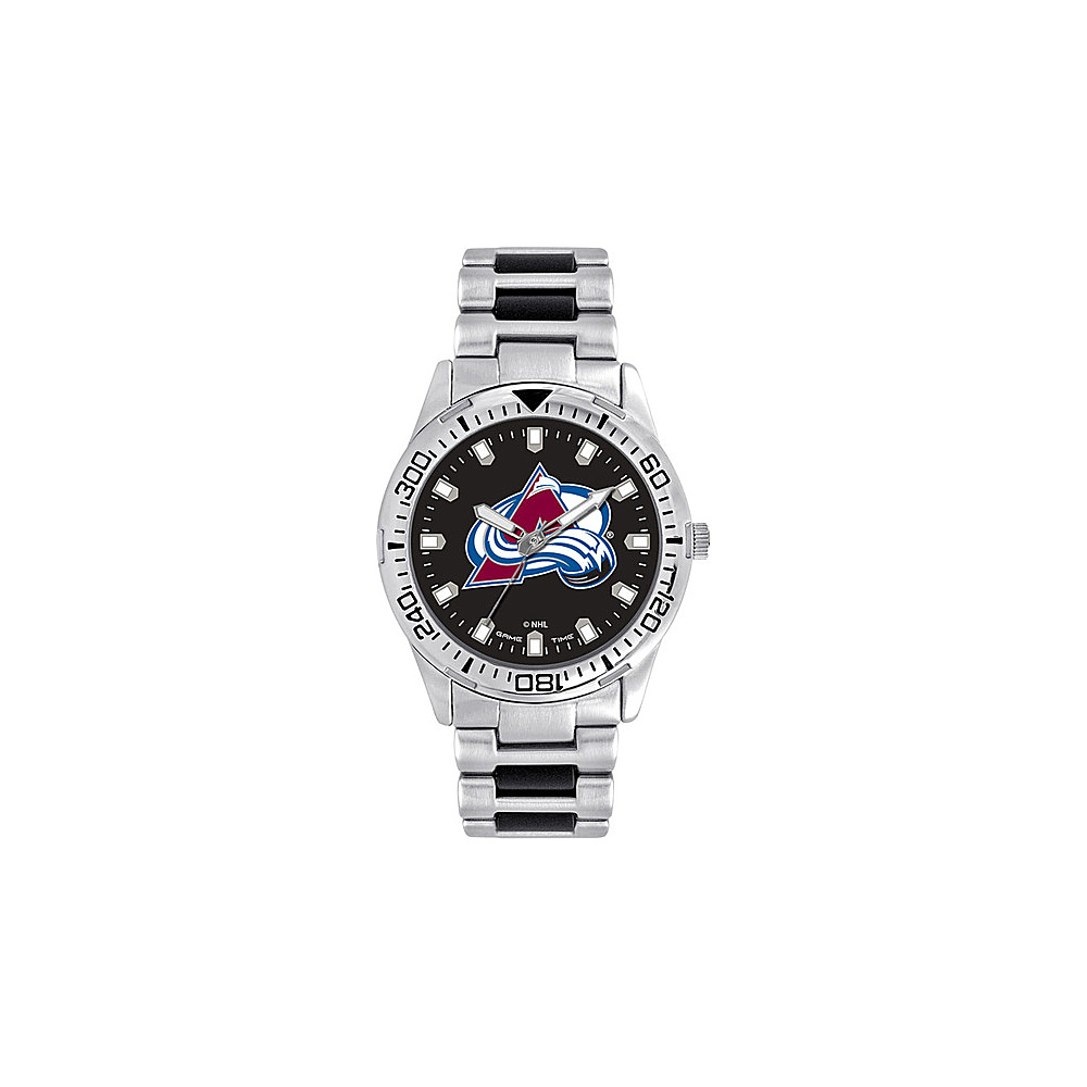 Game Time Mens Heavy Hitter- NHL Watch Colorado Avalanche - Game Time Watches - Fashion Accessories, Watches