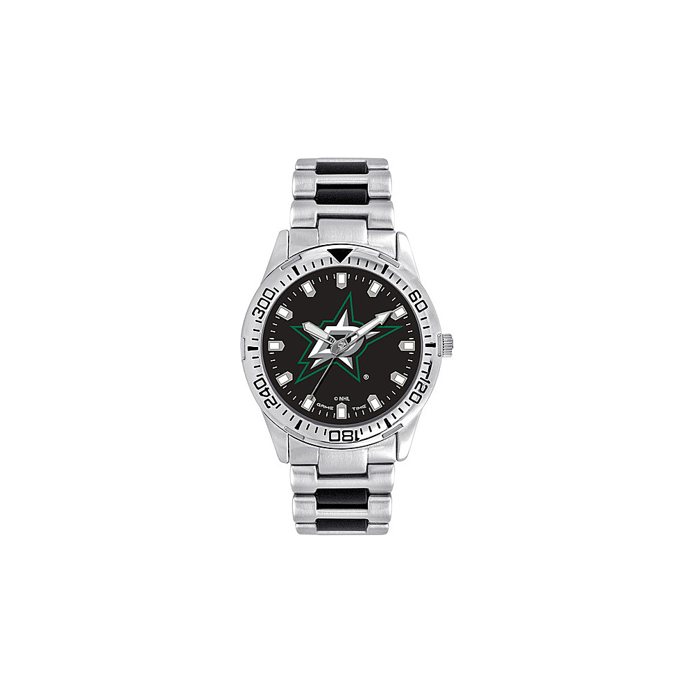 Game Time Mens Heavy Hitter- NHL Watch Dallas Stars - Game Time Watches - Fashion Accessories, Watches