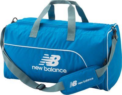 New Balance Training Day Duffel- Medium Electric Blue - New Balance Gym Duffels