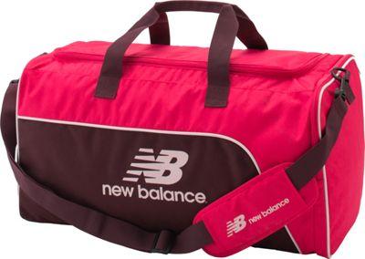 New Balance Training Day Duffel- Medium Pomegranate - New Balance Gym Duffels