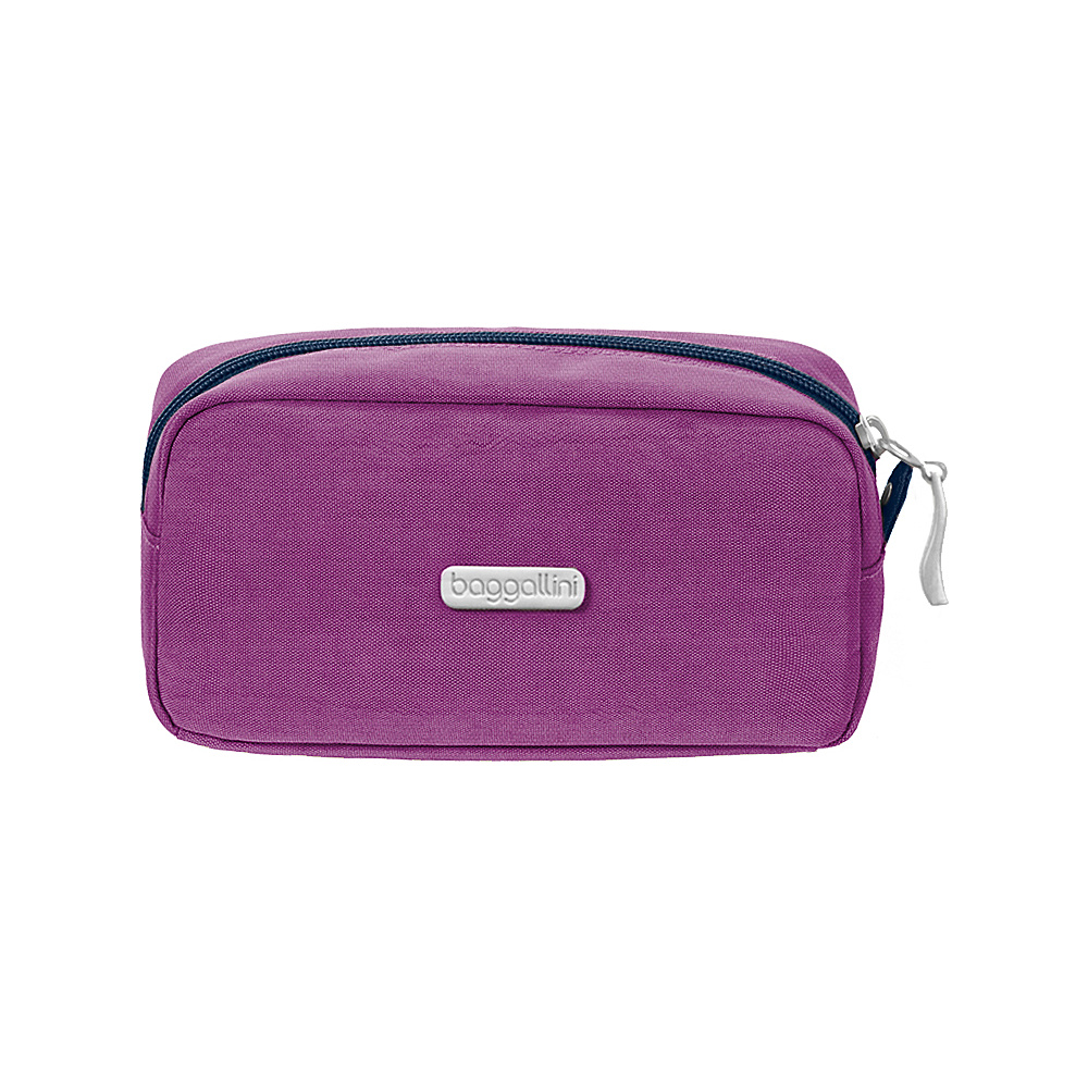 baggallini Square Cosmetic Case - Retired Colors Magenta/Pacific - baggallini Womens SLG Other - Women's SLG, Women's SLG Other
