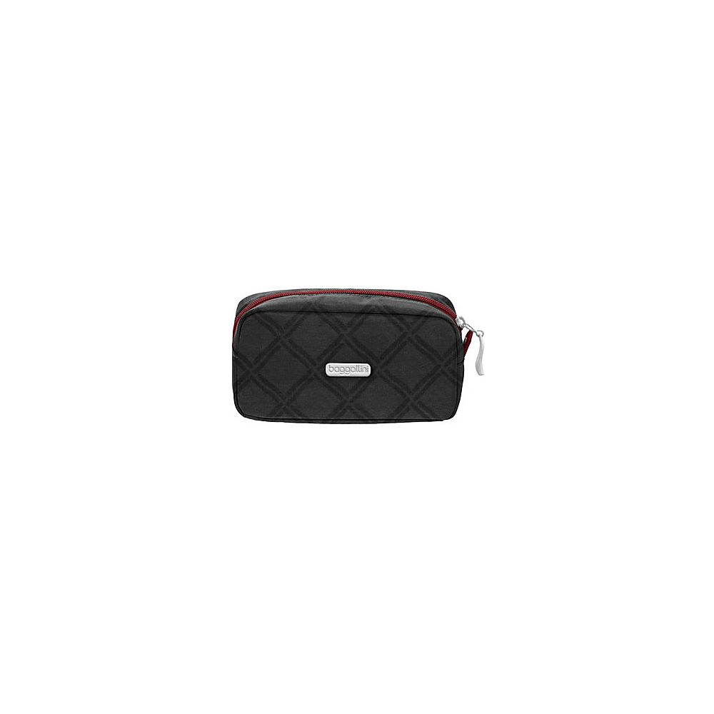 baggallini Square Cosmetic Case - Retired Colors Charcoal Link - baggallini Womens SLG Other - Women's SLG, Women's SLG Other
