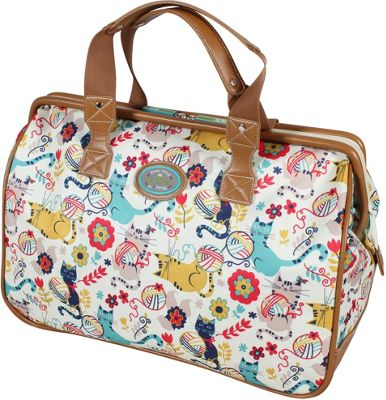 Lily Bloom Framed Satchel Furry Friends - Lily Bloom Luggage Totes and Satchels