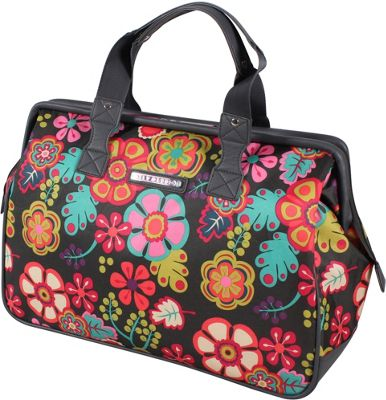 Lily Bloom Framed Satchel Folky Floral - Lily Bloom Luggage Totes and Satchels