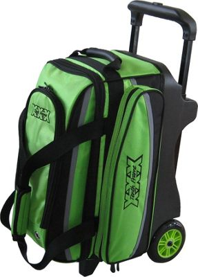 Tenth Frame Deluxe Double Roller Lime - Tenth Frame Bowling Bags