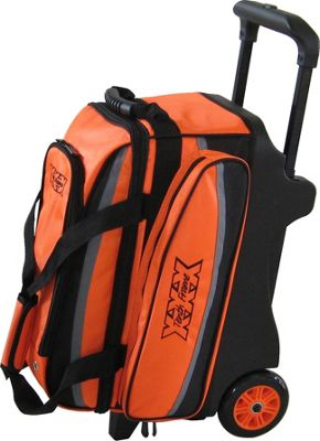 Tenth Frame Deluxe Double Roller Orange - Tenth Frame Bowling Bags