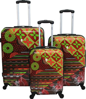 Dejuno 3-Piece Lightweight Hardside Luggage Set Sonoma - Dejuno Luggage Sets