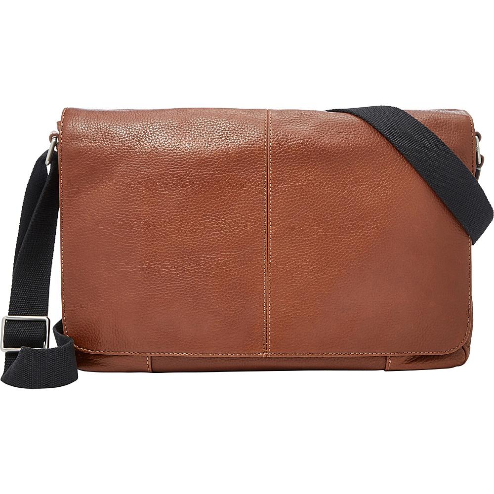 Fossil Mayfair Messenger Cognac - Fossil Messenger Bags - Work Bags & Briefcases, Messenger Bags