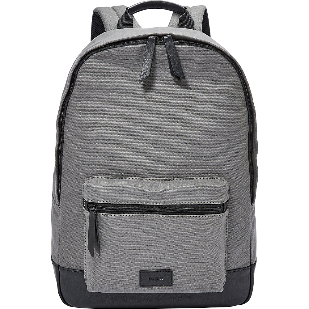 Fossil Estate Backpack Grey - Fossil School & Day Hiking Backpacks - Backpacks, School & Day Hiking Backpacks