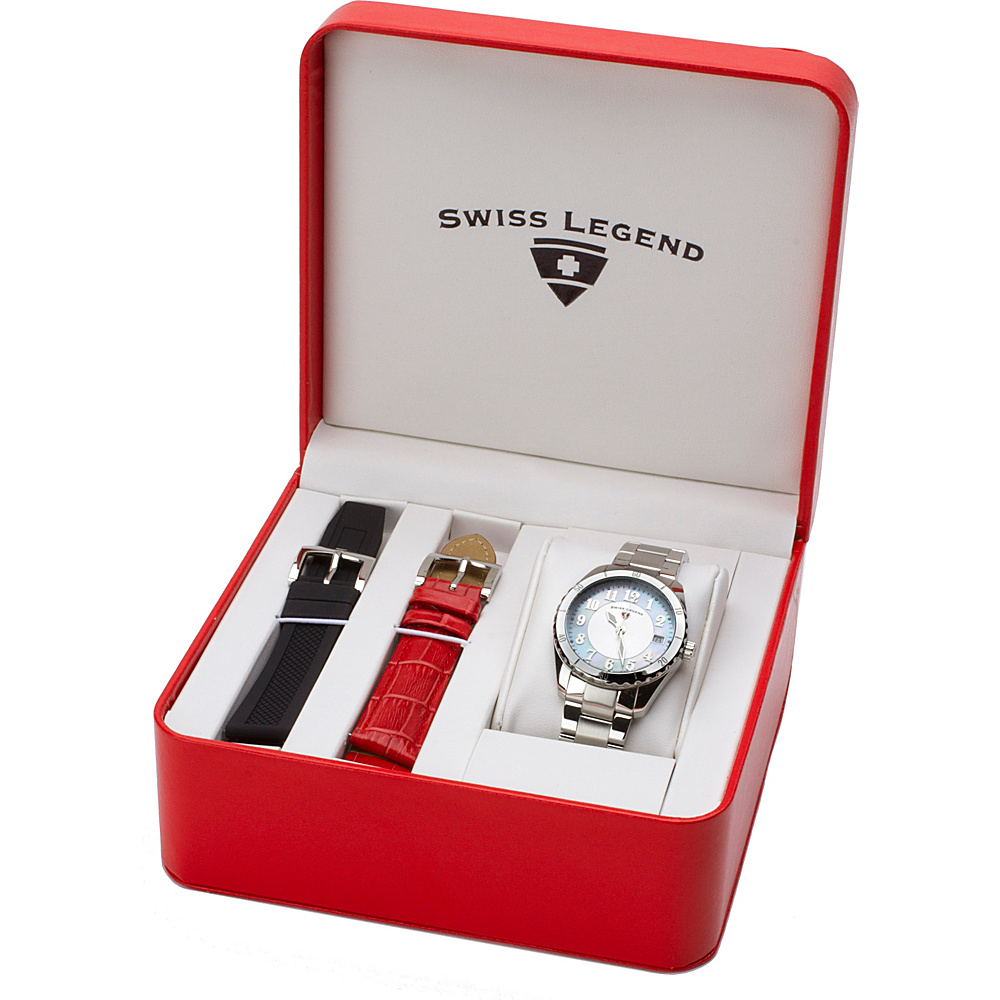 Swiss Legend Watches Sea Breeze Stainless Steel Watch Silver - Swiss Legend Watches Watches