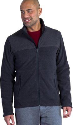 ExOfficio Mens Vergio Full Zip Fleece Jacket XL - Black - ExOfficio Men's Apparel