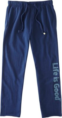 Life is good Mens Lounge Pant L - Darkest Blue - Life is good Men's Apparel