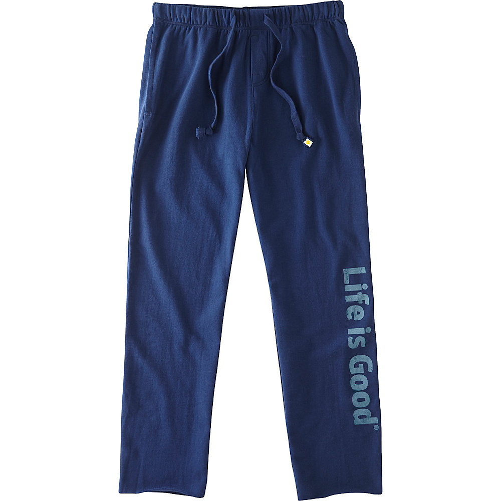 Life is good Mens Lounge Pant S Darkest Blue Life is good Men s Apparel