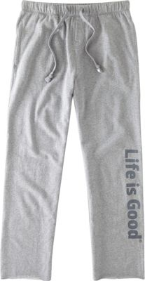 Life is good Mens Lounge Pant S - Heather Gray - Life is good Men's Apparel 10468545