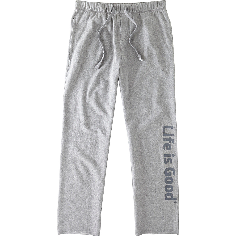 Life is good Mens Lounge Pant S Heather Gray Life is good Men s Apparel