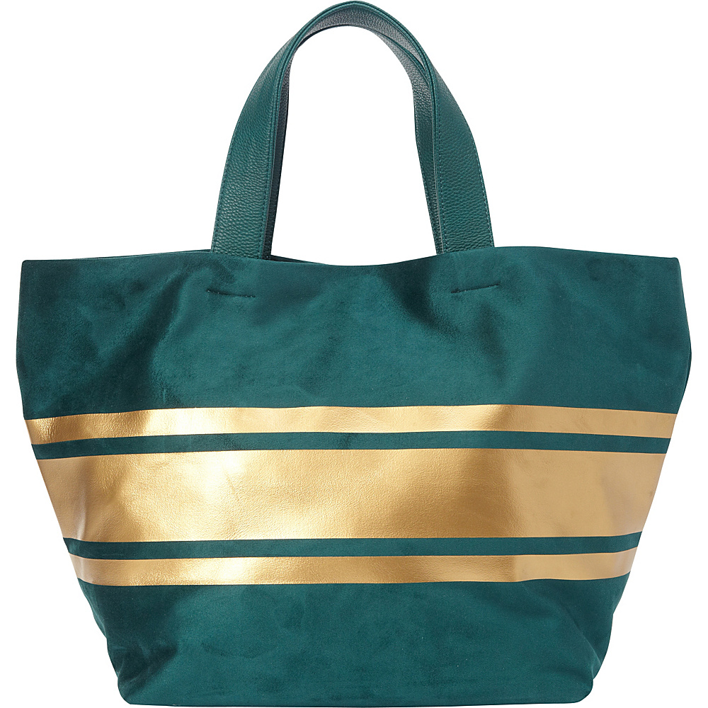 deux lux Lina Tote Teal deux lux Fabric Handbags
