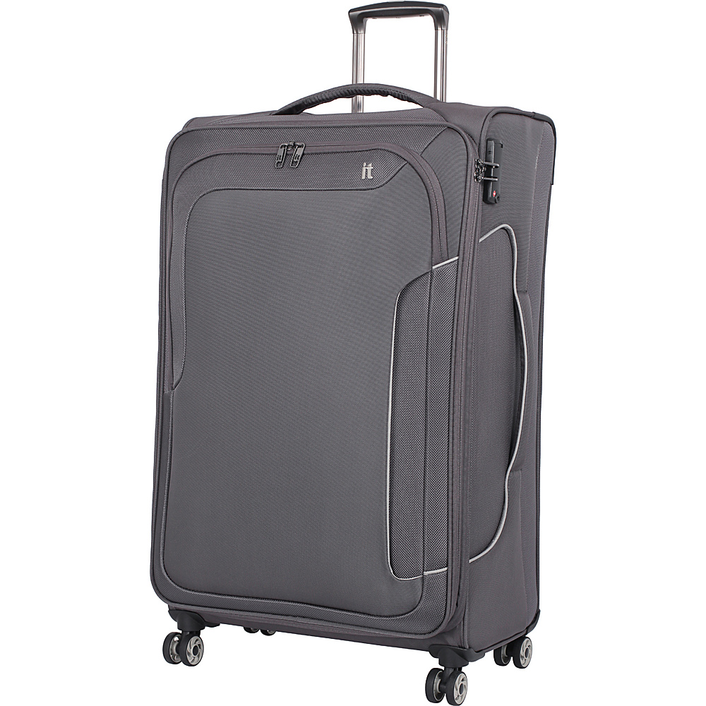 it luggage Amsterdam III 8 Wheel 31.3 Inch Spinner Magnet it luggage Softside Checked