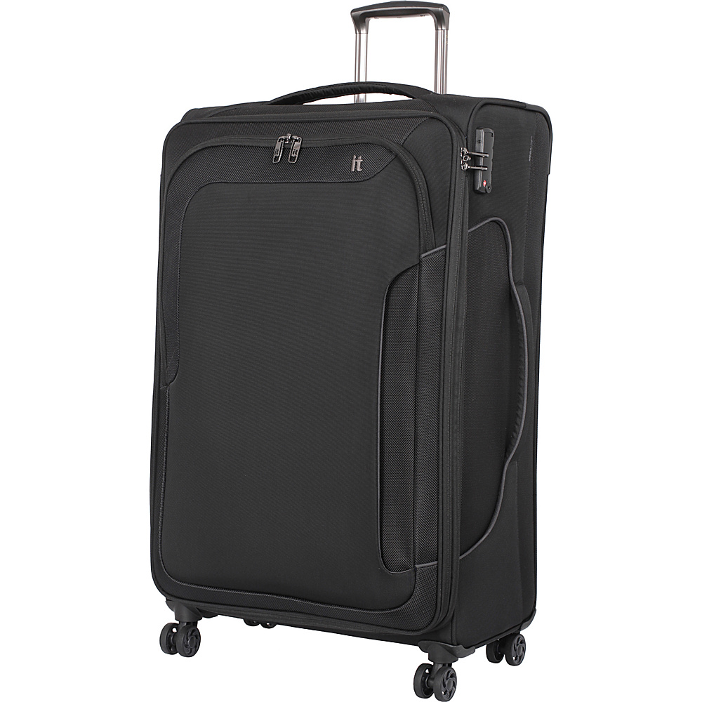 it luggage Amsterdam III 8 Wheel 31.3 Inch Spinner Black it luggage Softside Checked