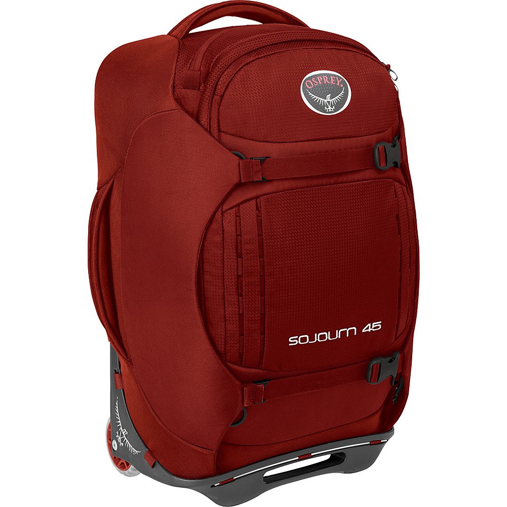 Osprey Sojourn 45L/22 Carry-On Hoodoo Red- DISCONTINUED - Osprey Softside Carry-On - Luggage, Softside Carry-On