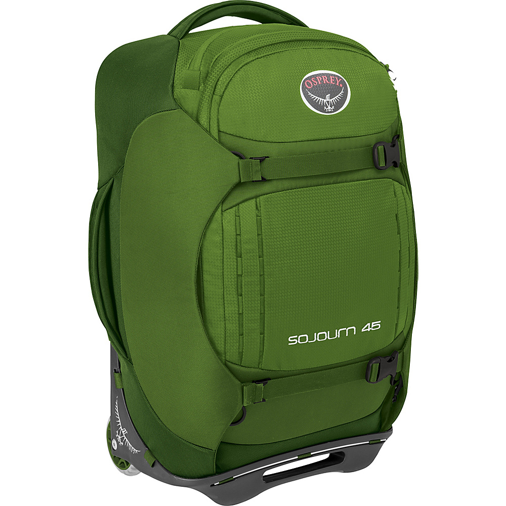 Osprey Sojourn 45L/22 Carry-On Nitro Green- DISCONTINUED - Osprey Softside Carry-On - Luggage, Softside Carry-On