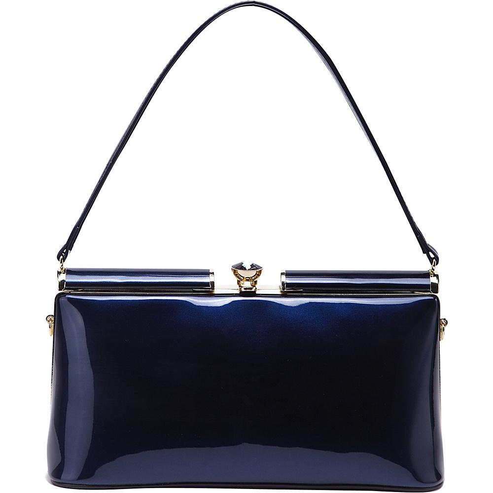 MKF Collection Cynthia Evening Bag Blue - MKF Collection Manmade Handbags - Handbags, Manmade Handbags