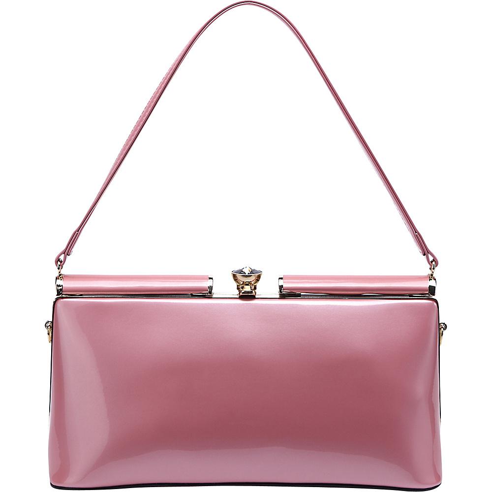 MKF Collection Cynthia Evening Bag Pink - MKF Collection Manmade Handbags - Handbags, Manmade Handbags