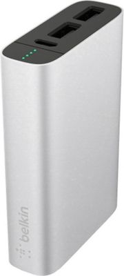 Belkin Mixit Metallic Power Pack 6600 Silver - Belkin Portable Batteries & Chargers
