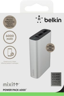 Belkin Mixit Metallic Power Pack 6600 Rose Gold - Belkin Portable Batteries & Chargers