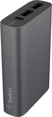 Belkin Mixit Metallic Power Pack 6600 Grey - Belkin Portable Batteries & Chargers