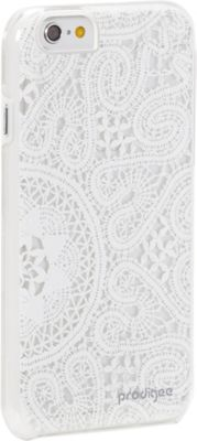 Prodigee Show-Lace Case for iPhone 6/6s Lace White - Prodigee Electronic Cases