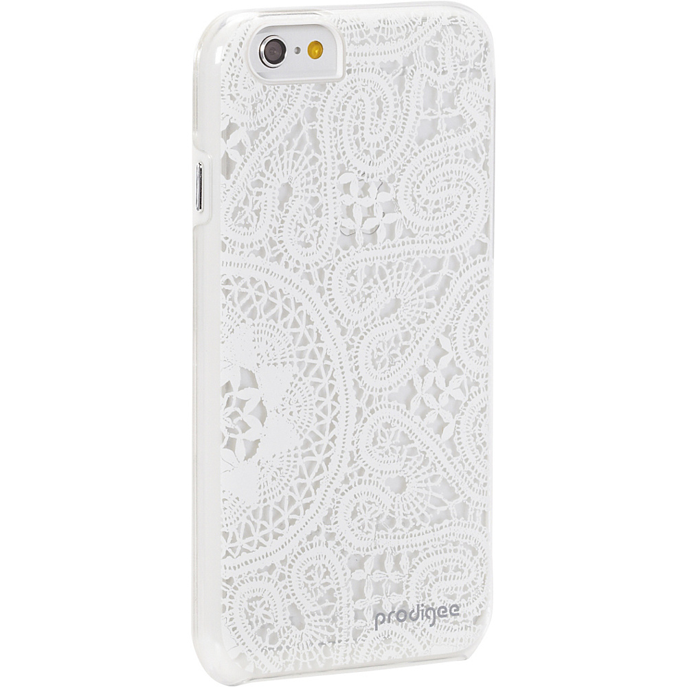 Prodigee Show Lace Case for iPhone 6 6s Lace White Prodigee Electronic Cases