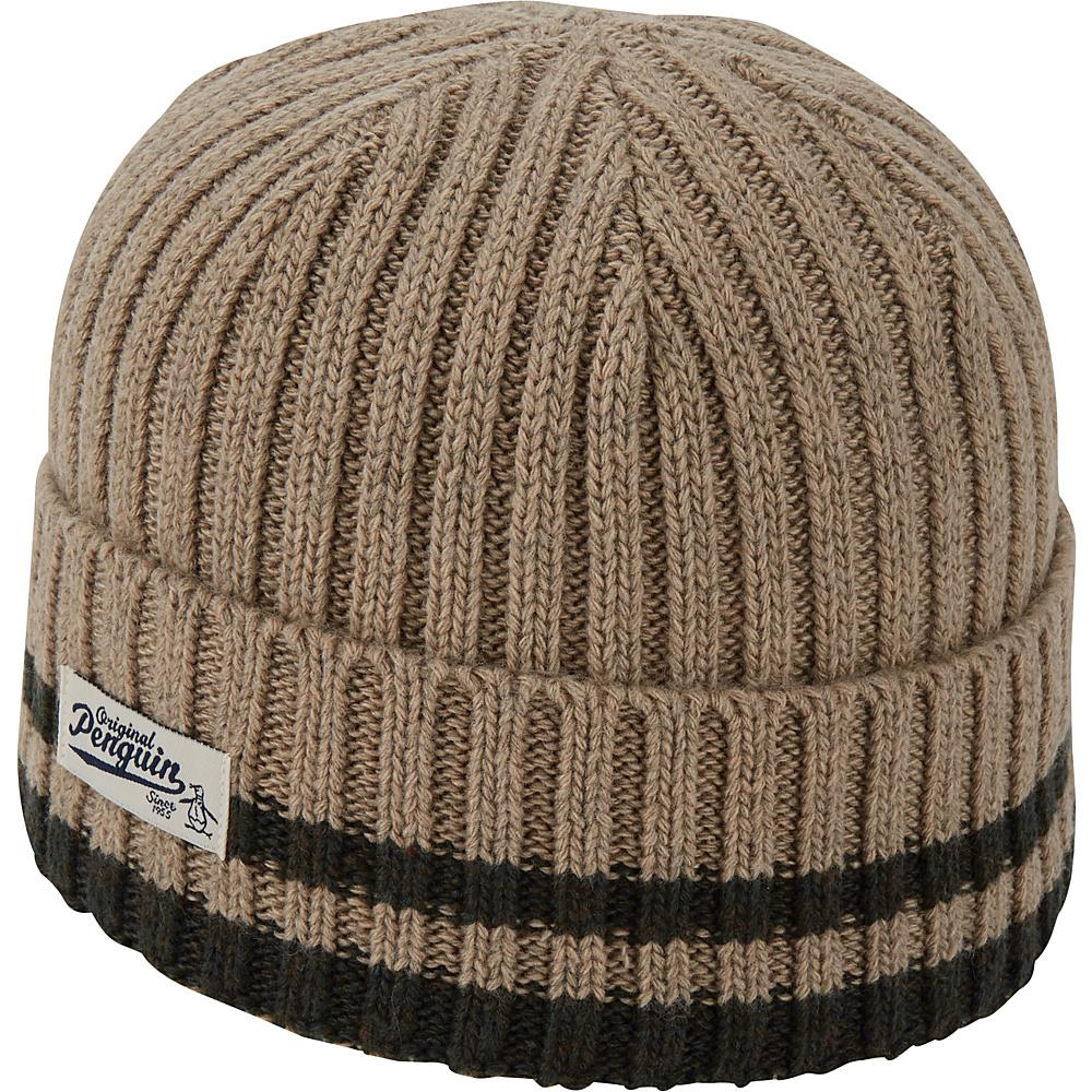 Original Penguin Chunky Knit Watchcap One Size - Kelp - Original Penguin Hats/Gloves/Scarves