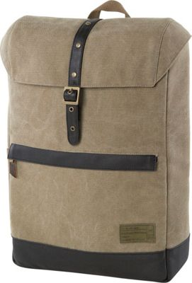 HEX Alliance Canvas Backpack Infinity Khaki - HEX Business & Laptop Backpacks