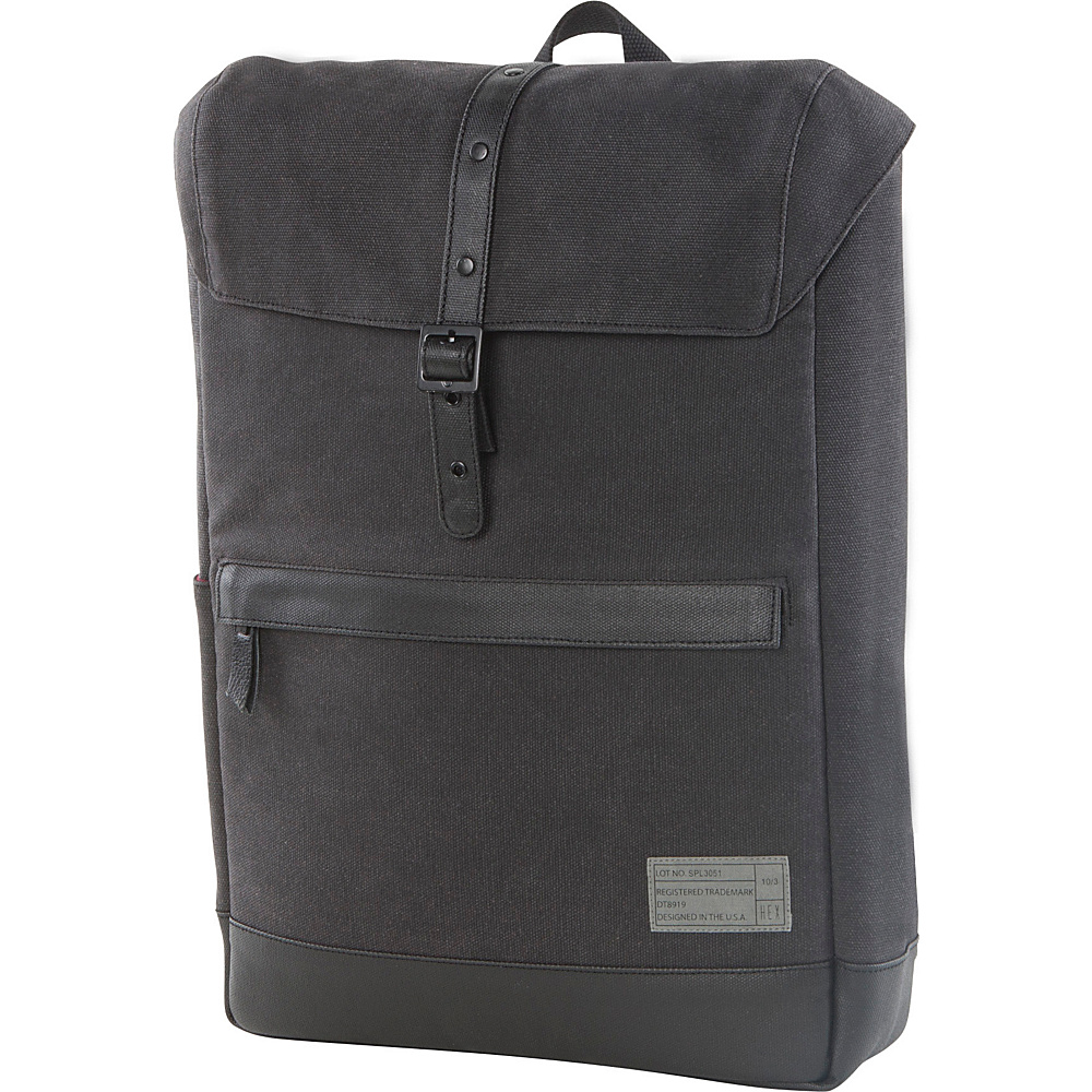 HEX Alliance Canvas Backpack Supply Charcoal HEX Business Laptop Backpacks