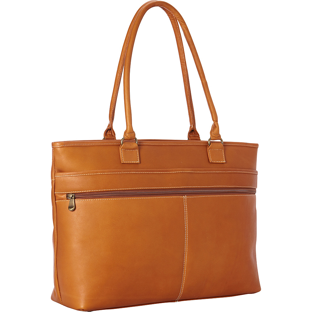 Le Donne Leather Fauna Executive Tote Tan - Le Donne Leather Womens Business Bags - Work Bags & Briefcases, Women's Business Bags