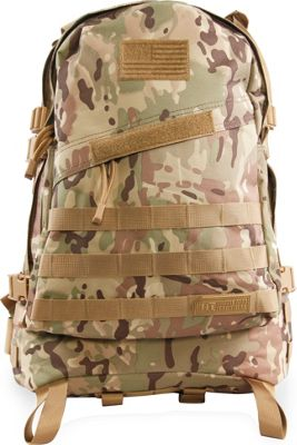 Highland Tactical Stealth Heavy Duty Large Tactical Backpack Camo - Highland Tactical Everyday Backpacks