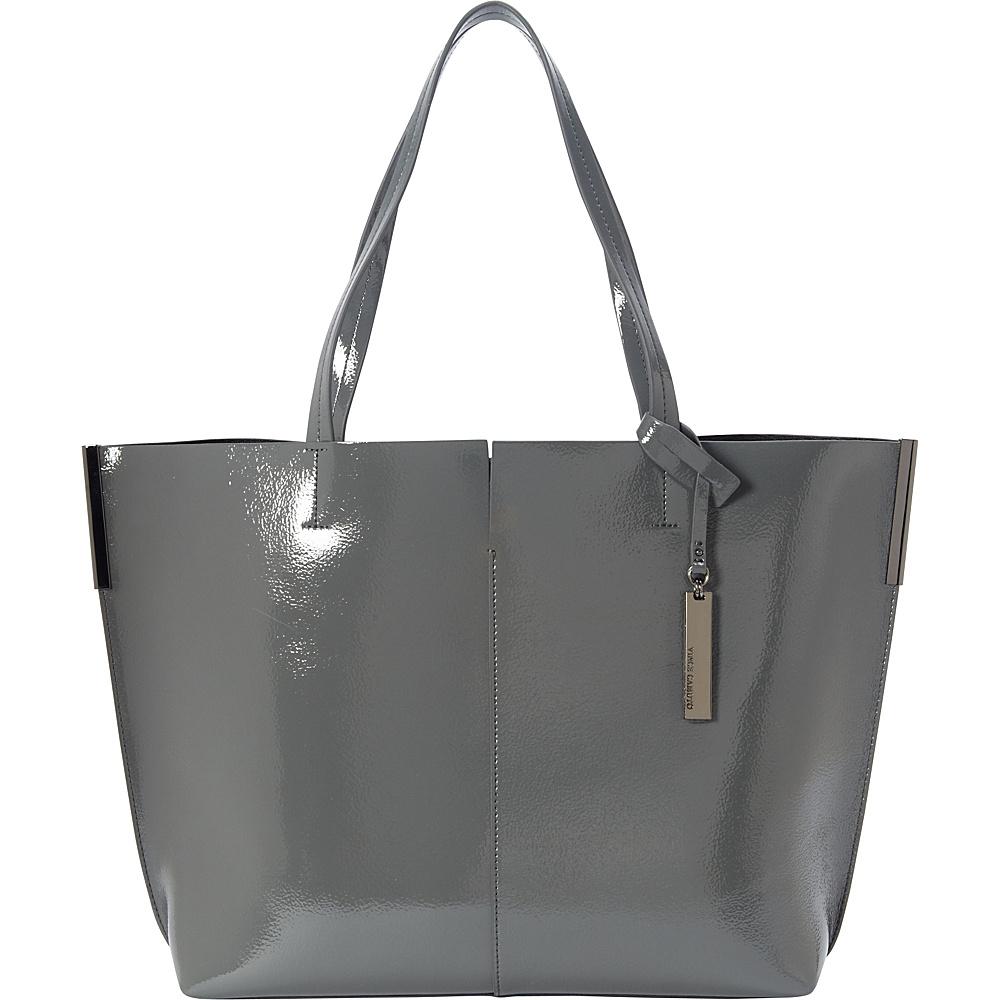 Vince Camuto Wylie Tote DarkGrey Black Vince Camuto Designer Handbags