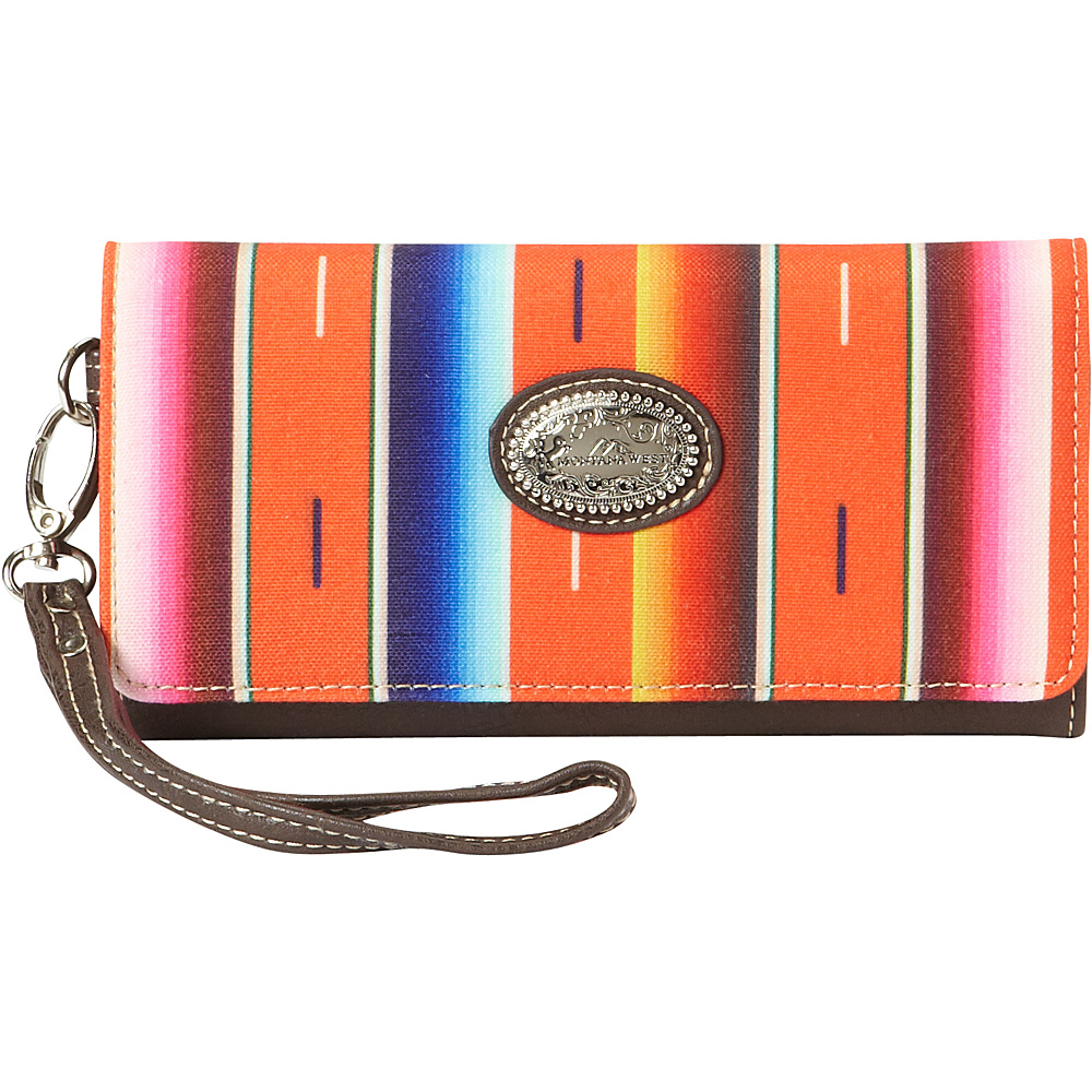 Montana West Serape Wallet Coral Montana West Women s Wallets