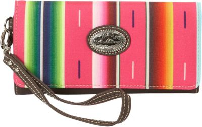Montana West Serape Wallet Pink - Montana West Women's Wallets