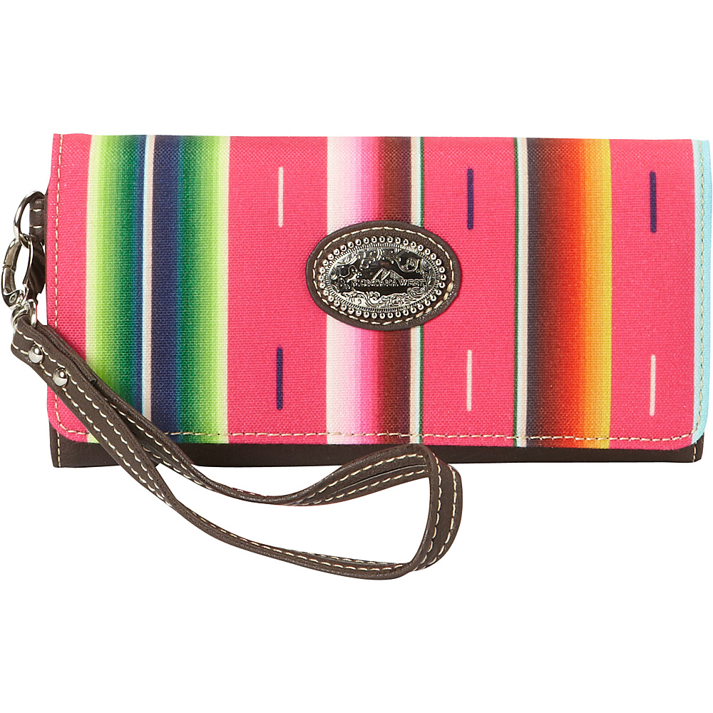Montana West Serape Wallet Pink Montana West Women s Wallets